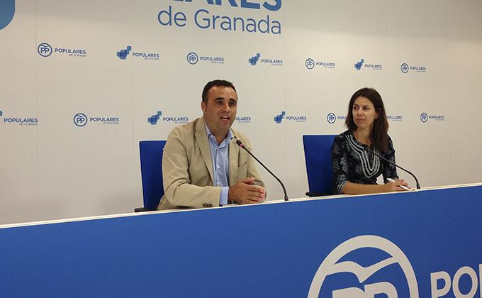 Francisco Rodríguez y Ana Vanesa García