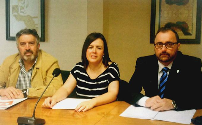 Los concejales del grupo municipal de Ciudadanos en el Ayuntamiento de Armilla