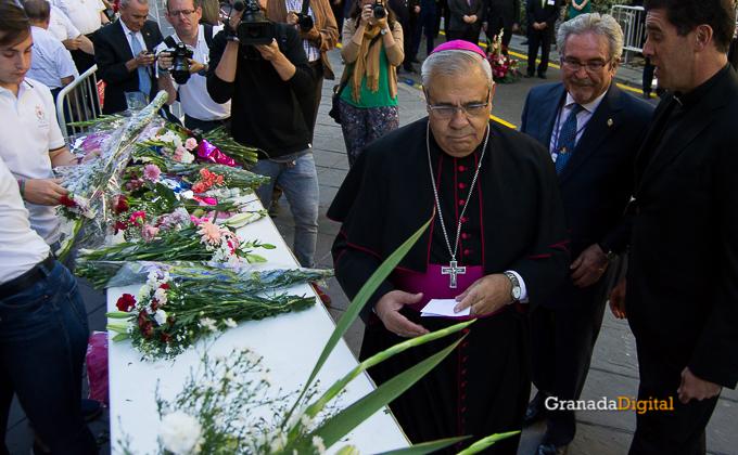 Ofrenda Floral Virgen de las Angustias 2016-15