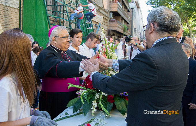 Ofrenda Floral Virgen de las Angustias 2016-17