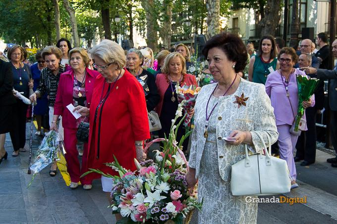 Ofrenda Floral Virgen de las Angustias 2016-19