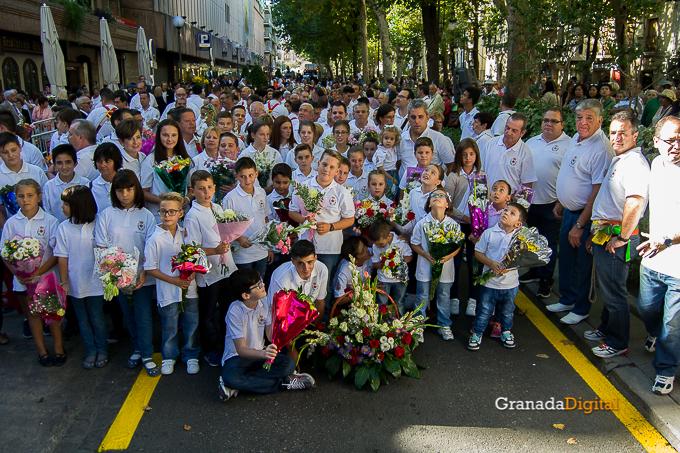 Ofrenda Floral Virgen de las Angustias 2016-2