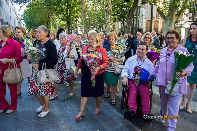 Ofrenda Floral Virgen de las Angustias 2016-20