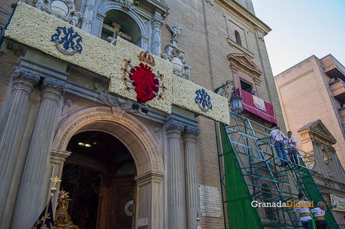 Ofrenda Floral Virgen de las Angustias 2016-22