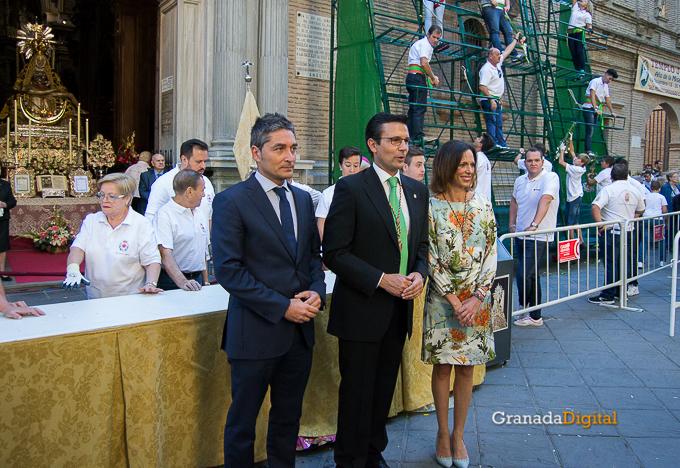 Ofrenda Floral Virgen de las Angustias 2016-27