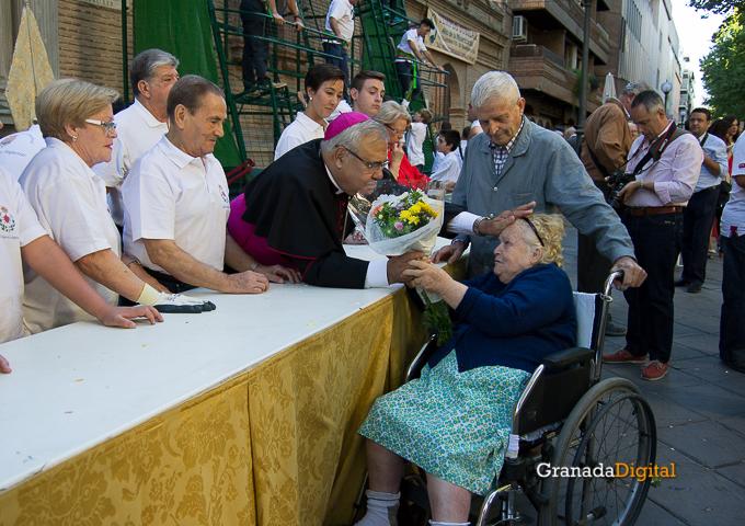 Ofrenda Floral Virgen de las Angustias 2016-28