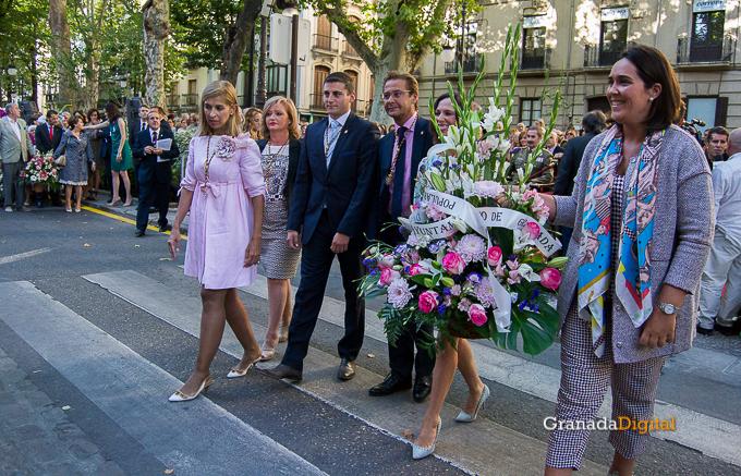Ofrenda Floral Virgen de las Angustias 2016-34