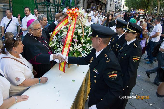 Ofrenda Floral Virgen de las Angustias 2016-59