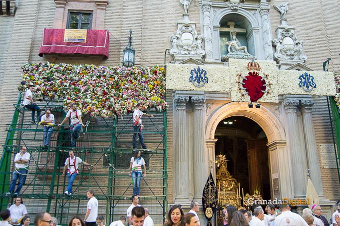 Ofrenda Floral Virgen de las Angustias 2016-60