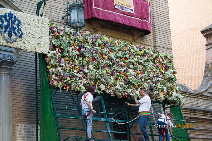 Ofrenda Floral Virgen de las Angustias 2016-61