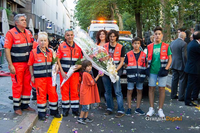 Ofrenda Floral Virgen de las Angustias 2016-63
