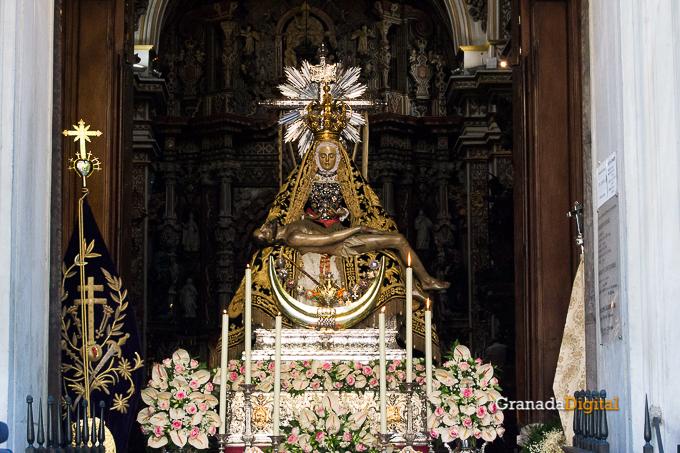 Ofrenda Floral Virgen de las Angustias 2016-7