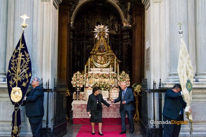 Ofrenda Floral Virgen de las Angustias 2016-8