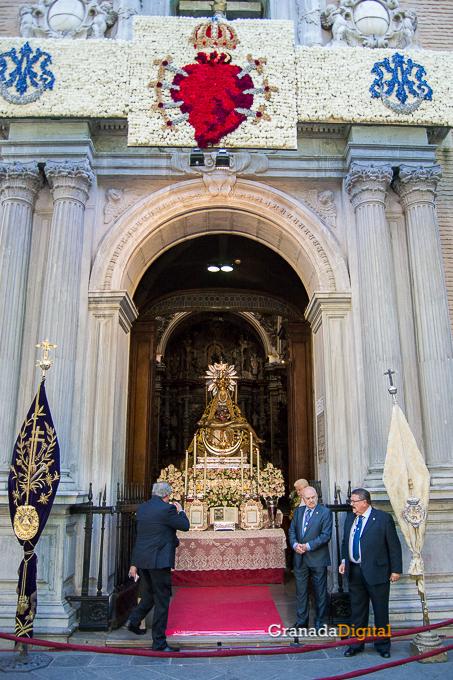 Ofrenda Floral Virgen de las Angustias 2016-9