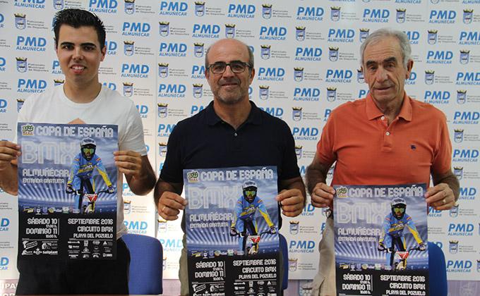 PRESENTACION COPA DE ESPAÑA BMX EN ALMUÑECAR 16
