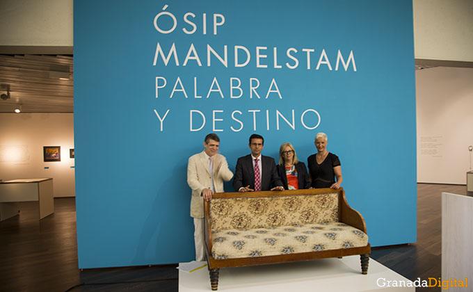 Paco Cuenca inaugura la Osip Mandelstam en el Centro Lorca