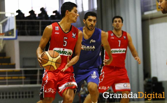 primer partido de pretemporada del fundacion CB Granada en el pabellon velete Antonio L Juarez-2541