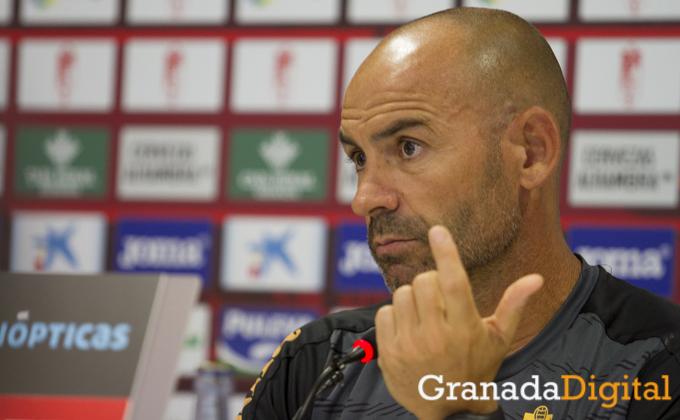rueda de prensa de Paco Jemez