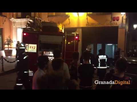 Incendio-en-la-cocina-del-Asador-de-Castilla-situado-en-el-centro-de-Granada