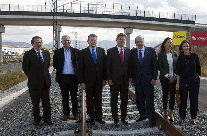 visita-ferrocarril-ministro-fomento-rafael-catala-sebastian-perze-santiago-perez-concha-santana-eva-blanco-antonio-sanz