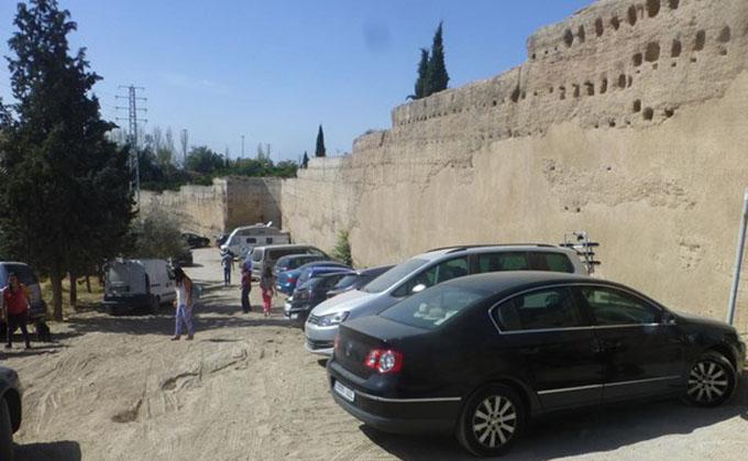muralla de la Alberzana