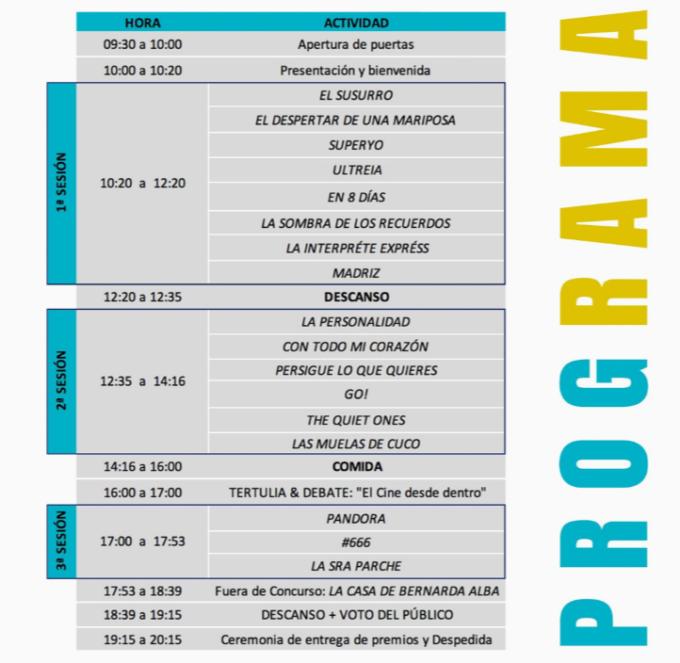 programa Black Panther - Festival de Cine en Lengua de Signos