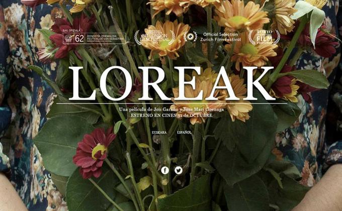 Loreak: una muerte, unas flores y la duda une a tres mujeres