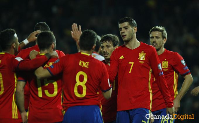 España ( Spain ) - Macedonia ( Macedonia )