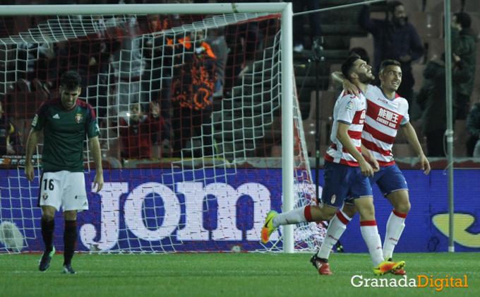Celebracion-Granada CF - C.A Osasuna