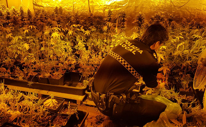 policia-ogijares-marihuana-droga