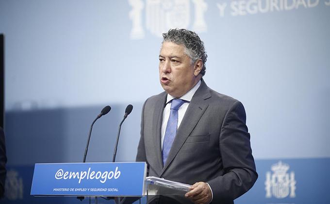 El secretario de Estado de la Seguridad Social Tomas Burgos