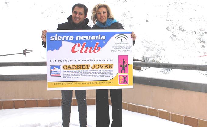 firma Cetursa IAJ para Sierra Nevada Club Carne Joven Europeo