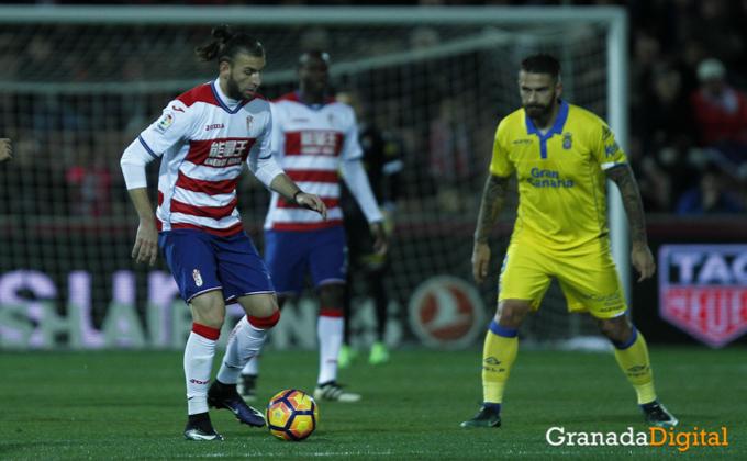 Gaston-Silva-Granada CF - UD Las Palmas