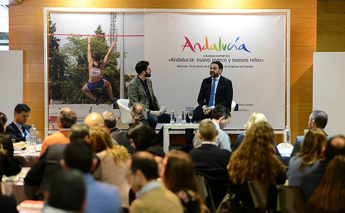 JMG foro titulado Andalucía nuevo marco y nuevos retos