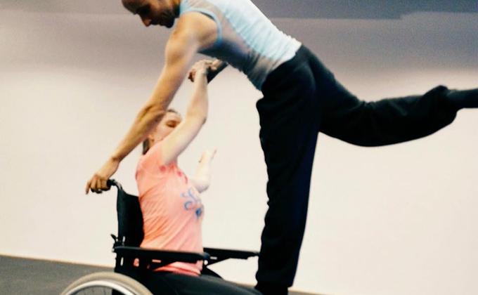 Lets dance silla de ruedas