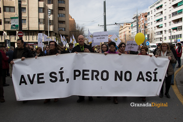 Manifestacion AVE Febrero 2017 marea amarilla-10