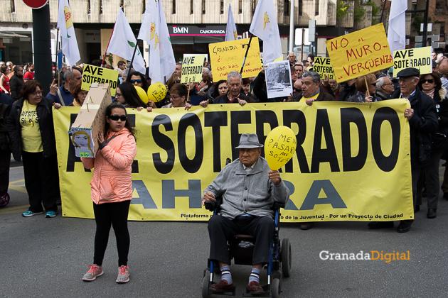 Manifestacion AVE Febrero 2017 marea amarilla-11