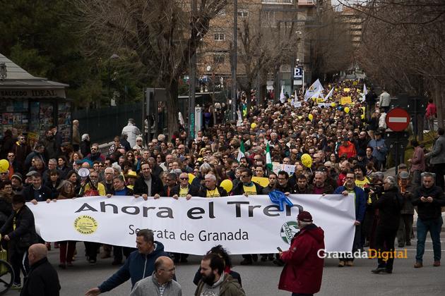 Manifestacion AVE Febrero 2017 marea amarilla-16