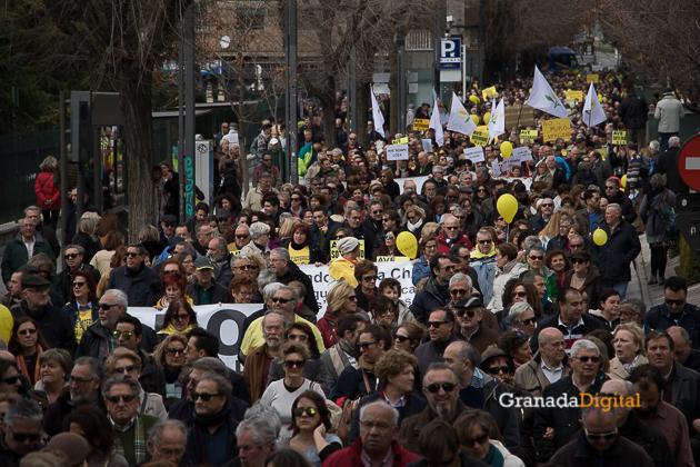 Manifestacion AVE Febrero 2017 marea amarilla-17