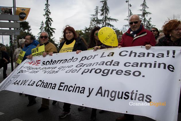 Manifestacion AVE Febrero 2017 marea amarilla-18