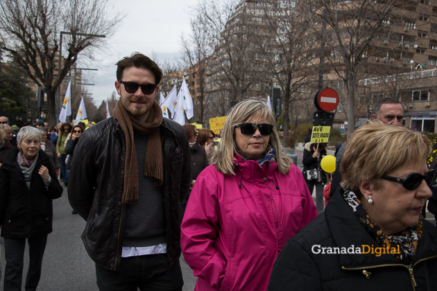 Manifestacion AVE Febrero 2017 marea amarilla-19