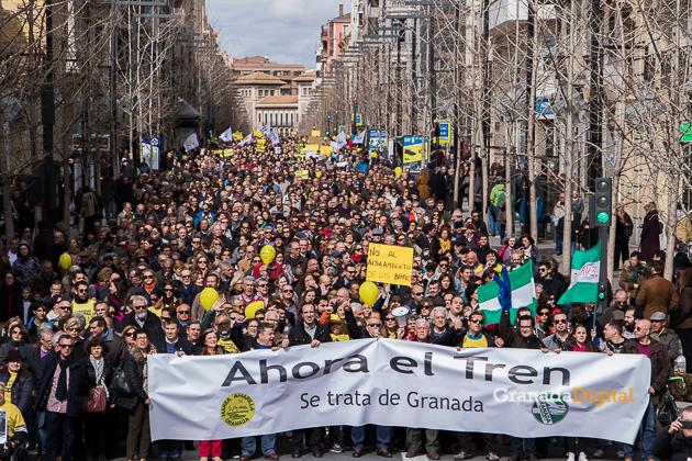 Manifestacion AVE Febrero 2017 marea amarilla-28
