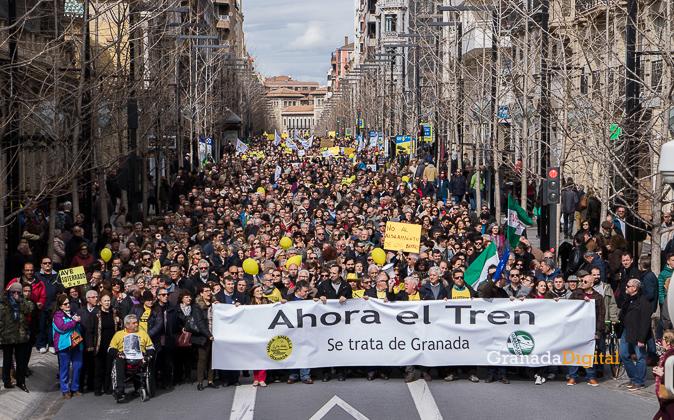 Manifestacion AVE Febrero 2017 marea amarilla-29