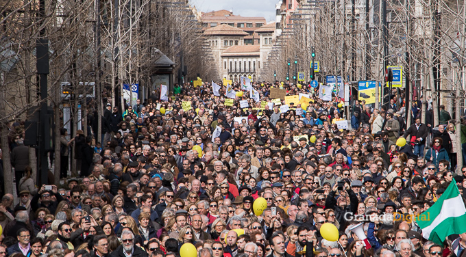 Manifestacion AVE Febrero 2017 marea amarilla-30