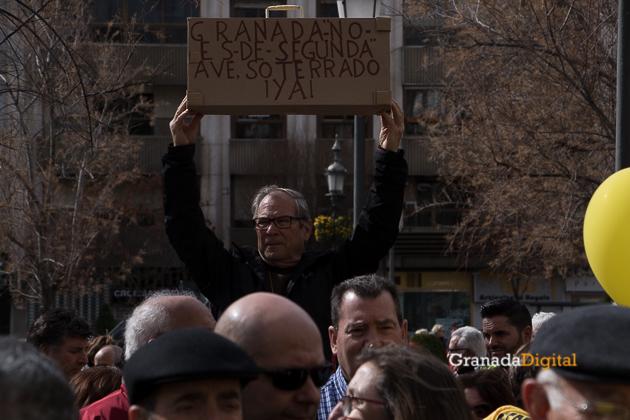 Manifestacion AVE Febrero 2017 marea amarilla-34