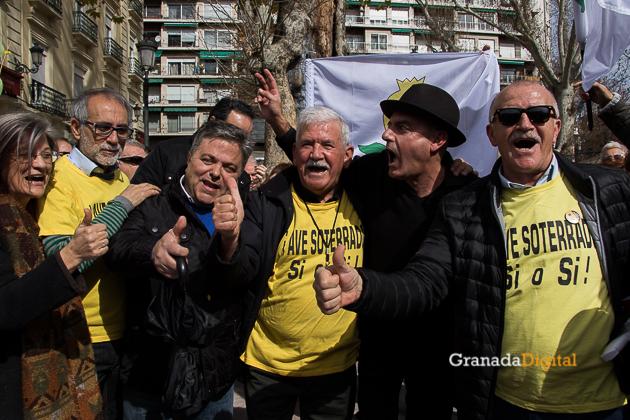 Manifestacion AVE Febrero 2017 marea amarilla-36