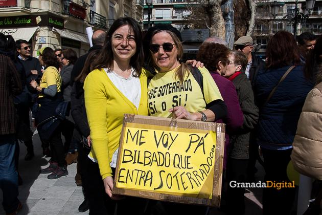 Manifestacion AVE Febrero 2017 marea amarilla-37