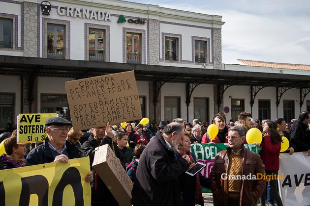 Manifestacion AVE Febrero 2017 marea amarilla-4