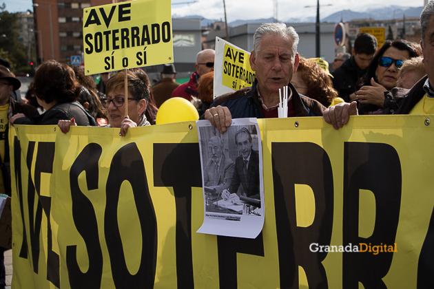 Manifestacion AVE Febrero 2017 marea amarilla-9