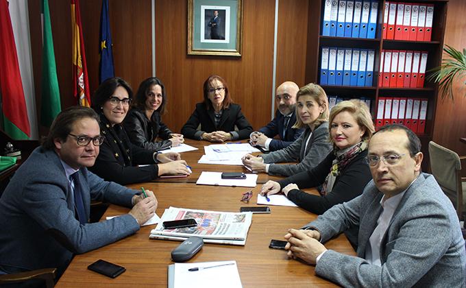 Reunión con Federación Comercio 7.2.17